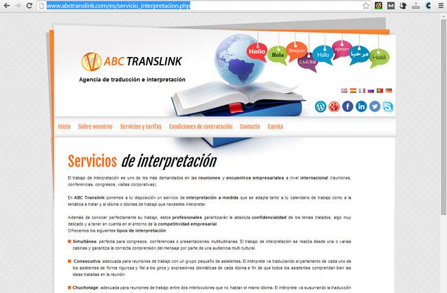 Servicios interpretación ABC Translink