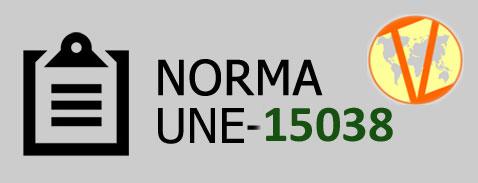 Norma UNE-15038