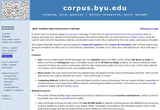 Corpus BYU