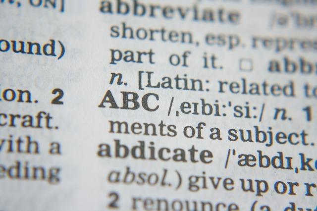 diccionarios contextuales